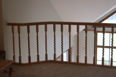 Balustrade & Escalier